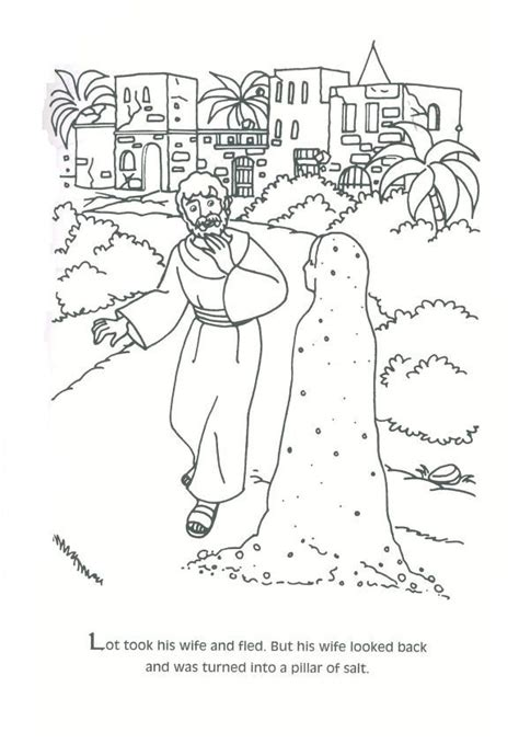 coloring page abraham and lot 18 best abraham et lot images on pinterest abraham and