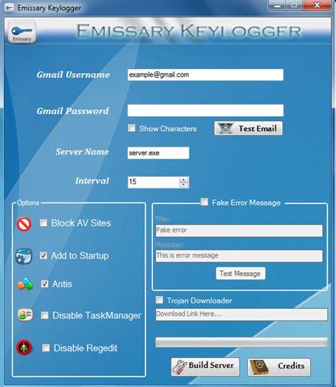download emissary keylogger full version emissary keylogger s05tware world