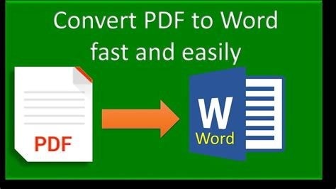 convert pdf to word document how how to convert pdf to word document no 2 youtube