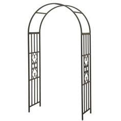 Wedding Arch Home Depot by Home Depot Arch 84 1 2 In X 49 1 2 In Wooden