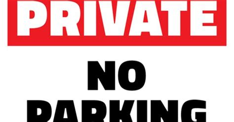 no parking signs template free no parking printable sign template free