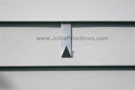 j ollie primitives vinyl siding hooks and free with amish
