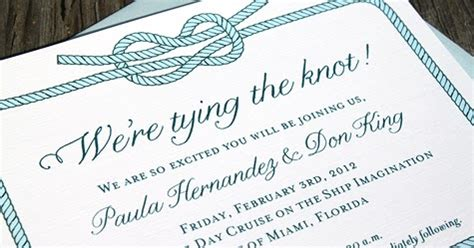 Wedding Announcement Miami by Concertina Press Stationery And Invitations Tying The