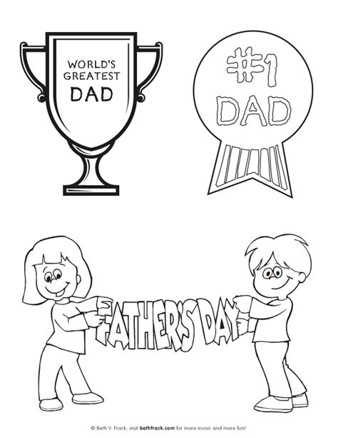 1 dad coloring pages coloring home