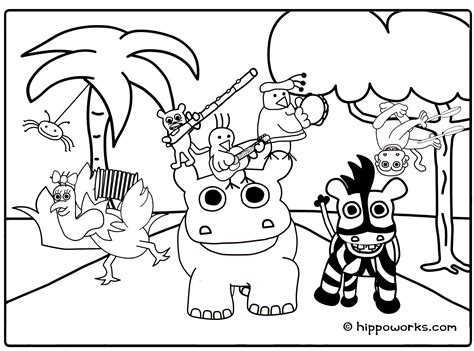 free coloring pages jungle theme jungle animal coloring pages to download and print for free