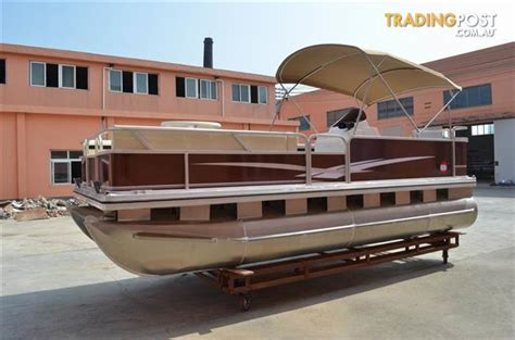 5 8m 19 ft pontoon party bbq boat for sale in noosaville - Boats For Sale Qld Trading Post