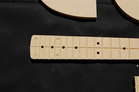 mustang guitar router template set 1 2 quot mdf cnc