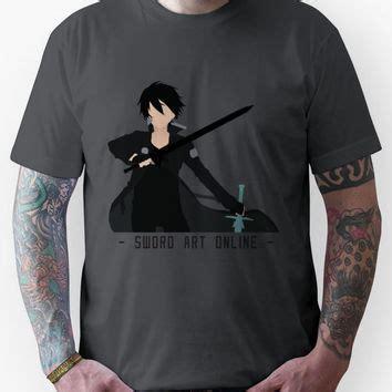 Kaos T Shirt Unisex Anime Sao Sword Kirito Asuna 1 kirito from sword unisex from redbubble shirts