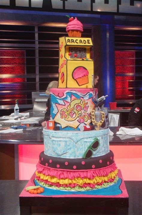 food network challenge food network food network challenge awesome 80 s cakes