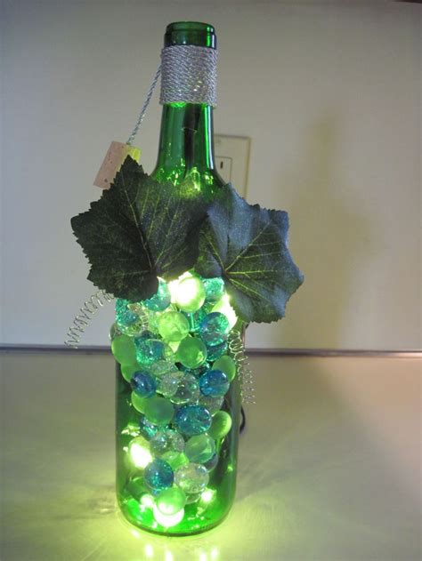 Wine Bottle L Craft Ideas Pinterest Crafts