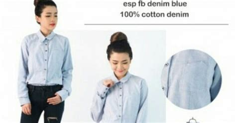 Baju Branded Wanita Cavin Klein Blouse distributor supplier baju branded eksport import
