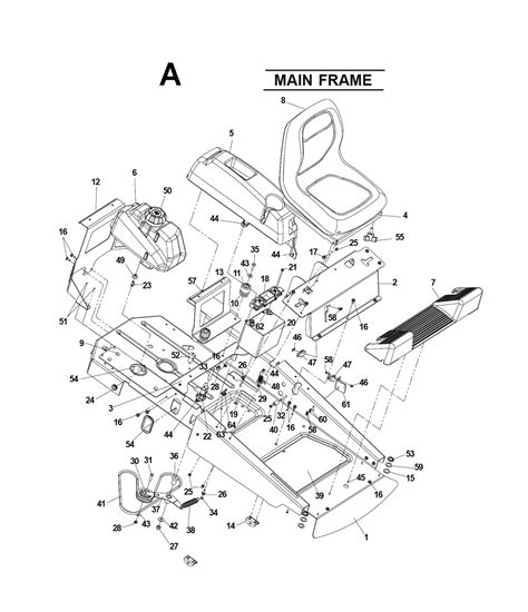 zero turn mower parts diagram buy husqvarna cz4217 968999246 replacement tool parts