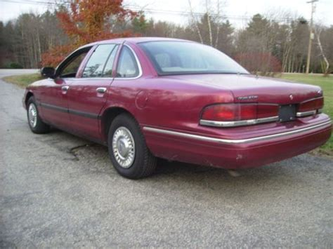 old car manuals online 1995 ford crown victoria regenerative braking service manual how to work on cars 1995 ford crown victoria user handbook sleepyg2006 1995