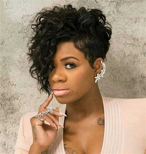 20 short curly hairstyles for black women short
