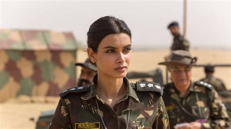 film india soldier parmanu first look diana penty dons the indian army