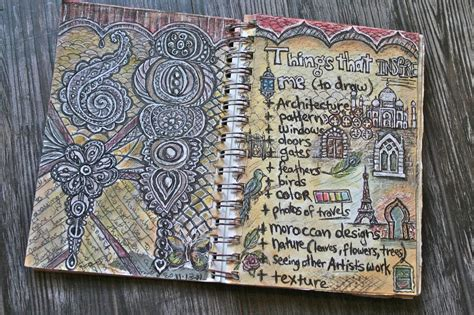 doodle journal e makes journal pages doodles and inspiring things