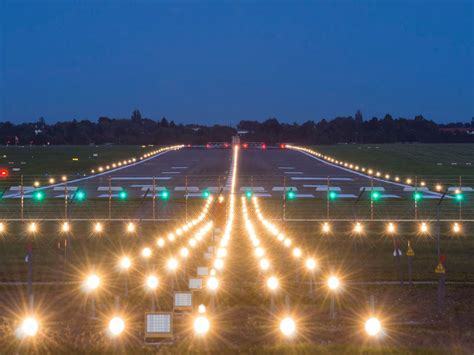 Runway Lighting Airport Runway Lights What Are They All For Stantec