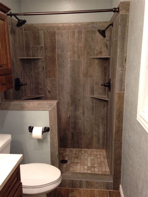 Bathroom Entrancing Tiled Shower Ideas  Magnificent