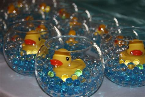baby shower centerpieces rubber ducks baby shower party ideas photo 4 of 22