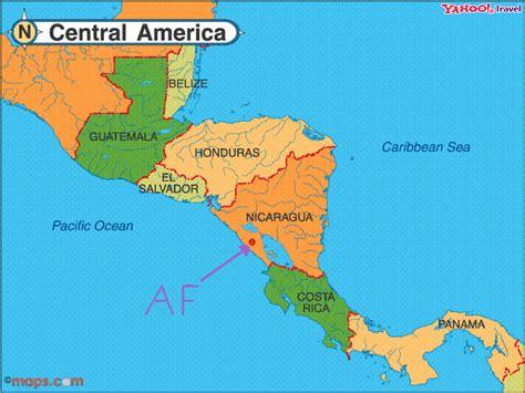 nicaragua location on world map at abundance farm