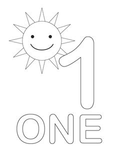 Free Coloring Pages Printable Fun Number One Coloring Pages Free Printable Number Coloring Pages