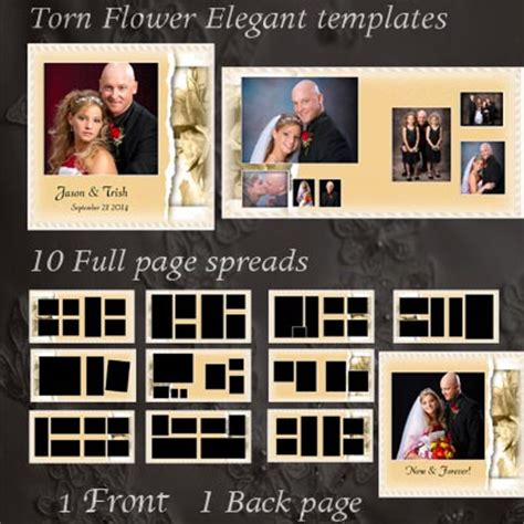 wedding album templates digital wedding album photo