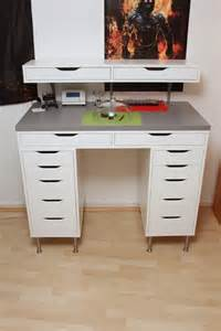 Ikea Alex Vanity Dupe Ikea Hack Watchmakertable Oh I Could Use That Idea With
