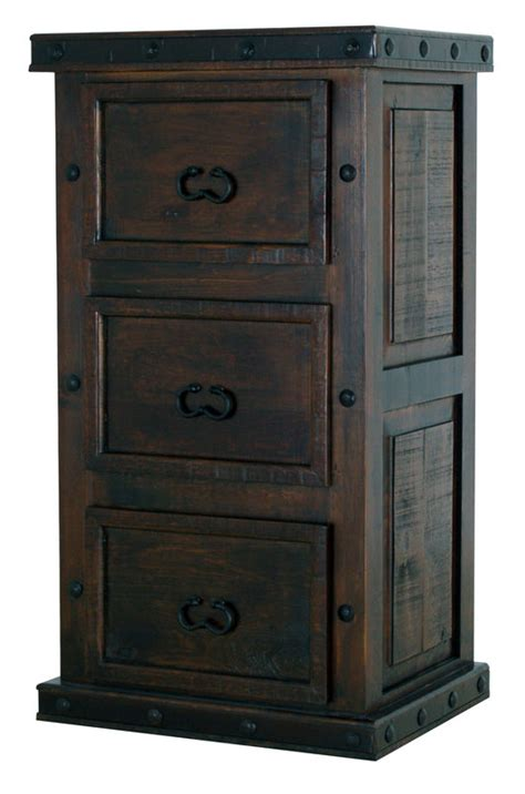 Rustic File Cabinet Rustic 3 Drawer File Cabinet 3 Drawer File Cabinet