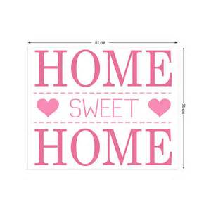 home sweet home wall stickers by the binary box 3d wall decals for living room p wall decal