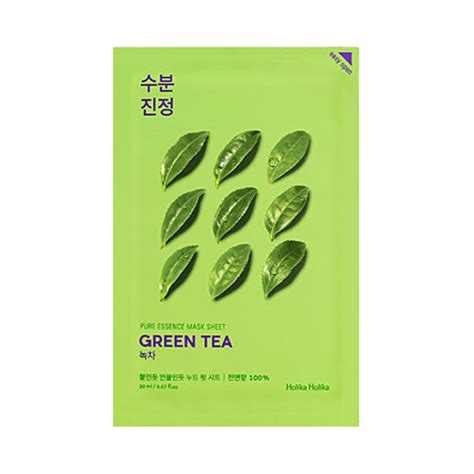 Suncare With Green Tea Theraskin Limited holika holika essence mask sheet 1pcs