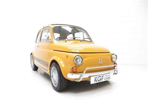 old fiat 1969 fiat 500 abarth 750 evocazione for sale classic