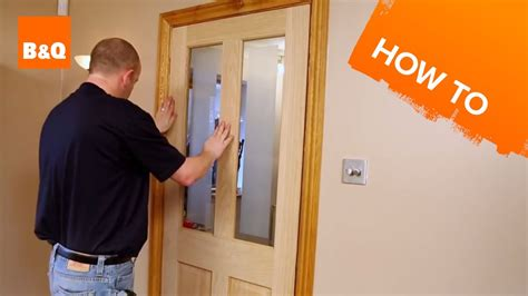 how to a door how to hang an interior door