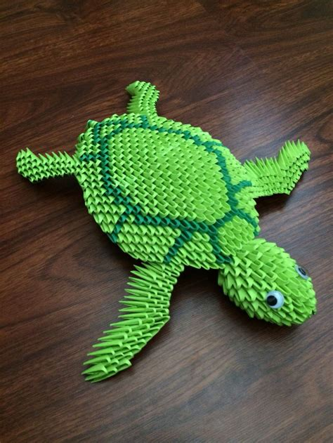 Sea Turtle Origami - 30 best 3d origami images on free pattern