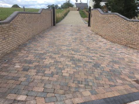 block paving gravel driveway sandstone patio bromsgrove