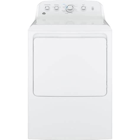 ge 7 2 cu ft electric dryer in white gtd42easjww the