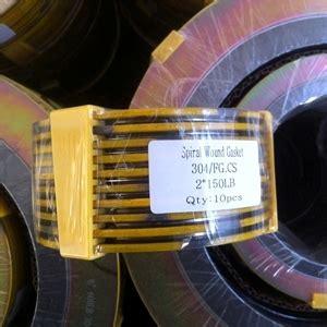 Spiral Wound Gasket Cs Carbon Steel 30 Ansi 150 ss316l spiral wound gaskets dn50 pn20 wt 4 4mm pipe fitting landee