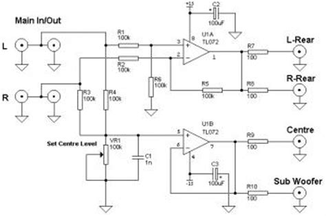 Output Lifier Audio Output 2ch by Line Level Pre Schematic Line Get Free Image About