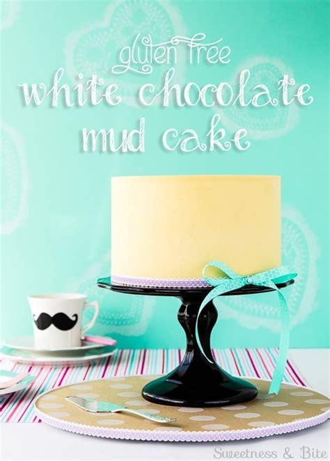 gluten  white chocolate mud cake sweetness bite
