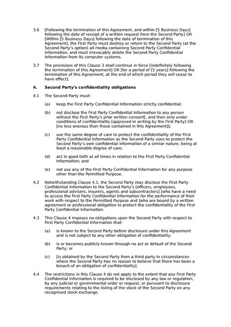 Non Disclosure Agreement Letter Of Intent Free Printable Non Disclosure Agreement Best Minutes Of Meeting Template