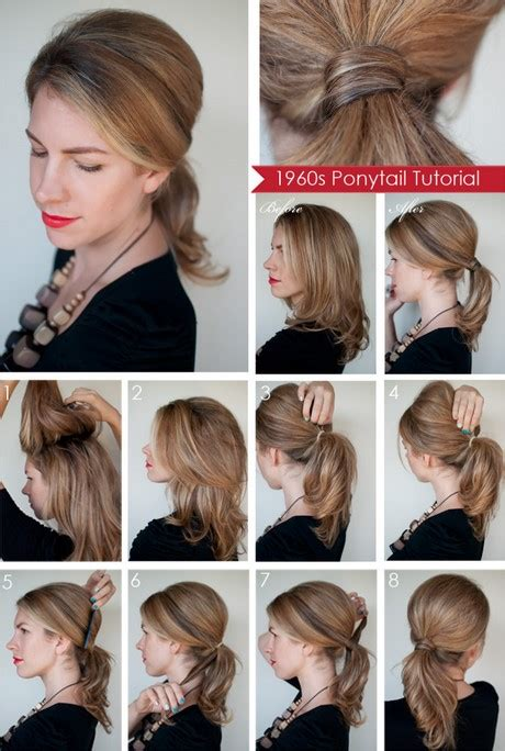 easy hairstyles for medium hair at home easy to do hairstyles for medium hair at home