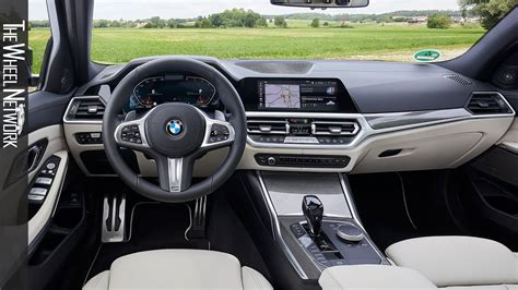 bmw  series touring interior  xdrive  sport