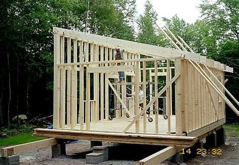 considered     shed   sloped roof