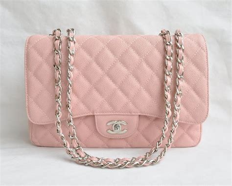 Top Quality Duvet Covers Replica Chanel Jumbo Flap Bag 28601 Pink Caviar Leather
