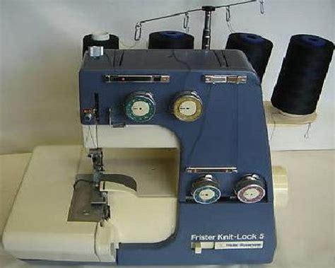 knit sewing machine frister rossmann knit lock 5 overlocker serger machine manual
