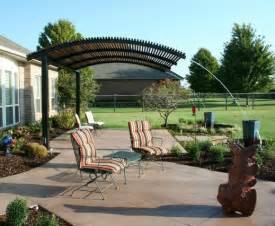 Steel Pergola Designs by Steel Shade Pergolas Provide A Shade Covering For Your