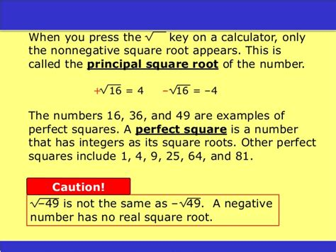 square root of 289 holt square and square roots pp