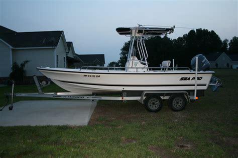 sea pro boats price 2001 sea pro sv2100 sold the hull truth
