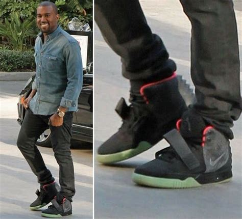Kayne For Limited Edition At Shopbop by Kanye West S Limited Edition Nike Sneakers Sold For 90 000