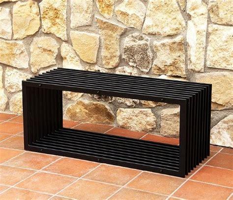gartenbank aus metall 598 m 246 bel dandibo ambiente f 252 r wohnzimmer g 252 nstig