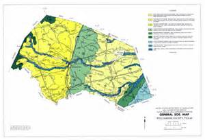 general soil map williamson county sequence 1